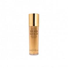 эмульсия для лица омолаживающая deoproce estheroce herb gold whitening & wrinkle care emulsion