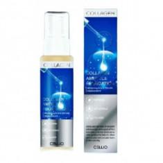 тональный крем с коллагеном dr.cellio  giinsu miracle collagen ampoule foundation