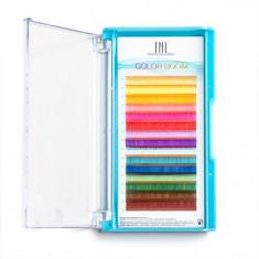 TNL, Цветные ресницы на ленте Color Boom 0,10/11 мм, D-изгиб TNL Professional