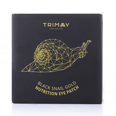 Trimay, Патчи для век Black Snail Gold, 90 г